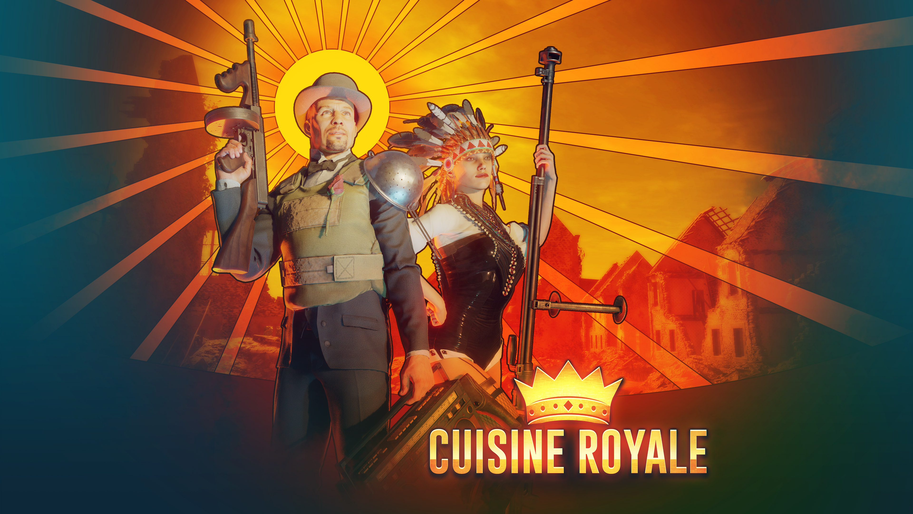 Cuisine Royale How To Heal Cuisine Royale Arrives And Brings Complex Battle Royale