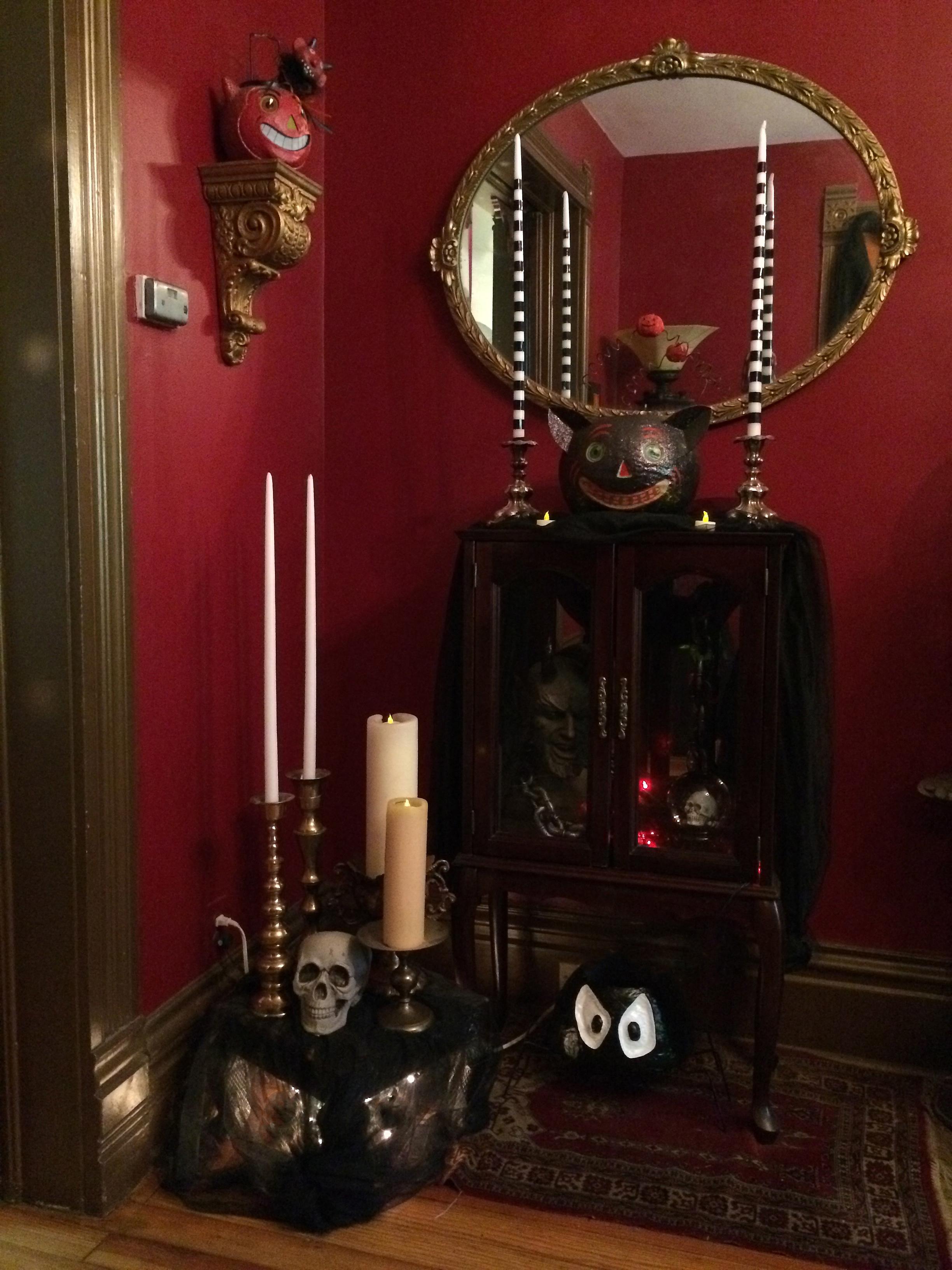 Dark Decor Victorian Gothic Halloween A Home Tour Today The