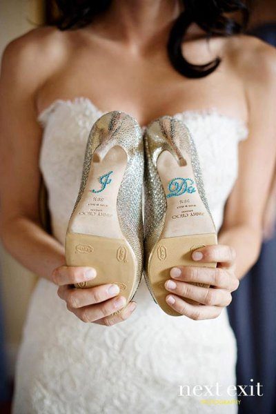 Wednesdays Wedding: Something Blue Ideas | The Yes Girls