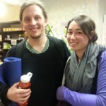 Anthony Light - Completed 100 yoga classes in a row at Flow Hot Yoga in Christchurch