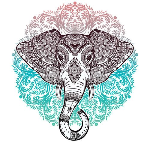 Yin And Yang Wallpaper Hd Elephant Mandala Symbolism The Yoga Mandala Shop