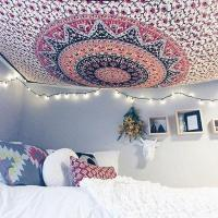 How To Hang A Tapestry From The Ceiling In 4 Steps | The ...