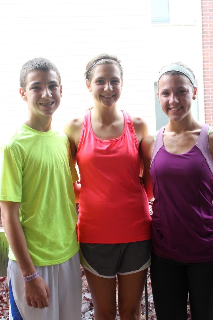 running cousins