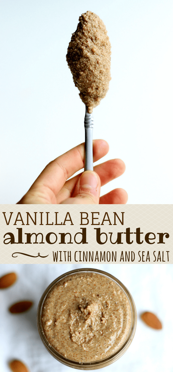 Vanilla Bean, Cinnamon, Sea Salt Almond Butter