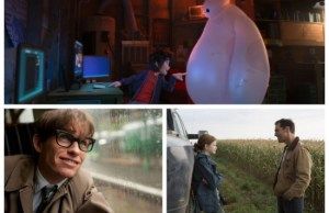 Big Hero 6, Interstellar, The Theory of Everything