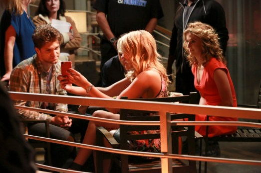 """YOUNG & HUNGRY - """"Young & Back to Normal"""" - Gabi meets a new guy but is nervous about what Josh will think on a new episode of ABC Family's original comedy """"Young & Hungry,"""" airing on Wednesday, August 26th at 8:30 p.m. ET/PT. (ABC Family/Ron Tom) KEEGAN ALLEN, EMILY OSMENT, ALEXIS CARRA"""