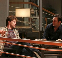 """YOUNG & HUNGRY - """"Young & Back to Normal"""" - Gabi meets a new guy but is nervous about what Josh will think on a new episode of ABC Family's original comedy """"Young & Hungry,"""" airing on Wednesday, August 26th at 8:30 p.m. ET/PT. (ABC Family/Ron Tom) KEEGAN ALLEN, JONATHAN SADOWSKI"""