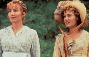 Sister act: Emma Thompson and Kate Winslet in the 1995 film of Sense and Sensibility.