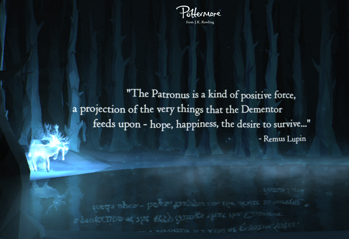 Pottermore's Patronus quiz is here!