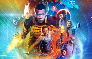 "DC's Legends Of Tomorrow -- Image Number: LGN_S2_KEYART.1.jpg -- Pictured (Clockwise from top):  Brandon Routh as Ray Palmer / Atom, Maisie Richardson-Sellers as Amaya Jiwe/Vixen, Victor Garber as Professor Martin Stein / Firestorm, Arthur Darvill as Rip Hunter, Dominic Purcell as Mick Rory / Heat Wave, Nick Zano as Nate Heywood, Caity Lotz as White Canary, and Franz Drameh as Jefferson ""Jax"" Jackson / Firestorm Jr -- Photo: Frank Ockenfels III & Jordan Nuttall/The CW -- © 2016 The CW Network, LLC. All rights reserved."