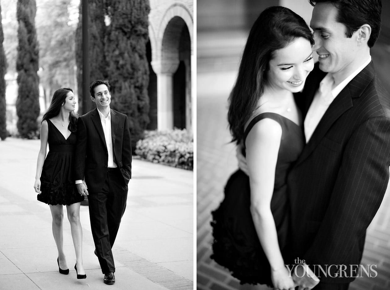 Black dress outfits for fall engagement