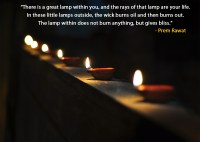 There is a great lamp within you, and the| Prem Rawat