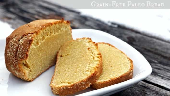 Rustic Grain-Free, Gluten-Free Paleo bread Recipe