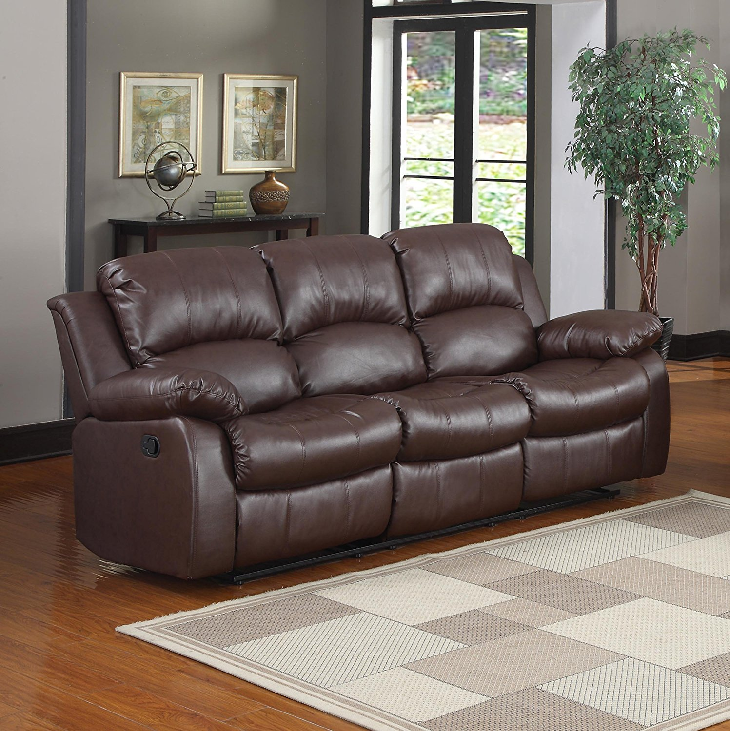 Top 10 Best Leather Reclining Sofas In 2020 Reviews