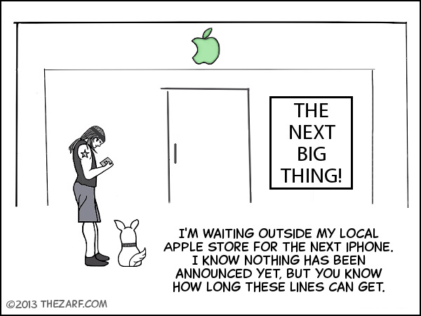 Waiting for Next iPhone