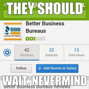 bbb glassdoor meme