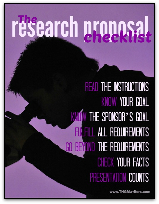 How to write a winning research proposal - how to develop a research proposal
