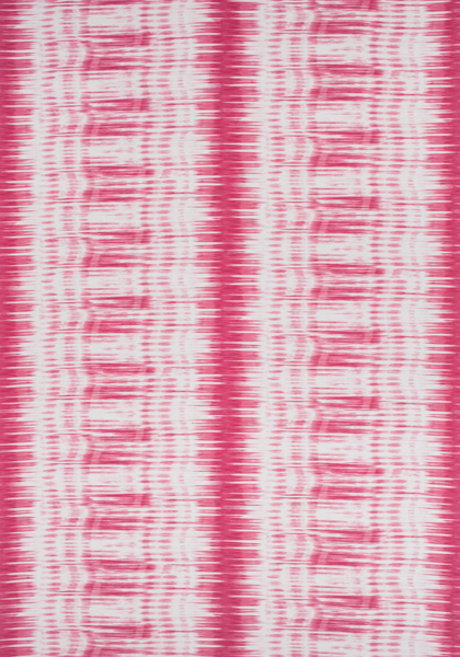 Black Velvet Damask Wallpaper Ikat Stripe Pink F988703 Collection Trade Routes From