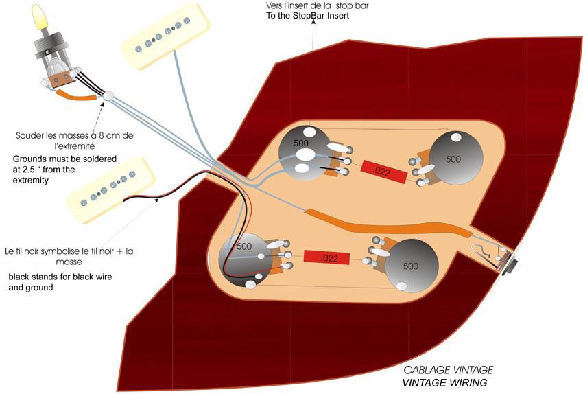 Gibson Les Paul P90 Wiring Diagram Online Wiring Diagram
