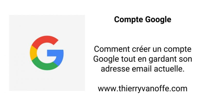 creer une adresse gmail cv