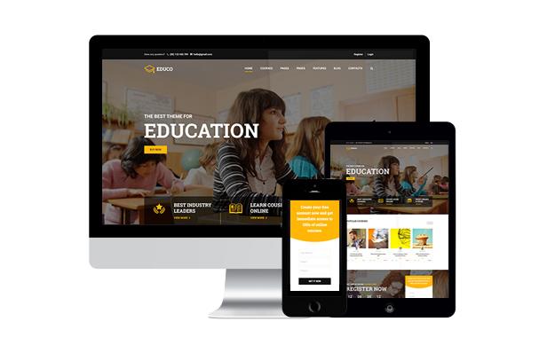 Education WordPress Theme Education WP by ThimPress ThemeForest