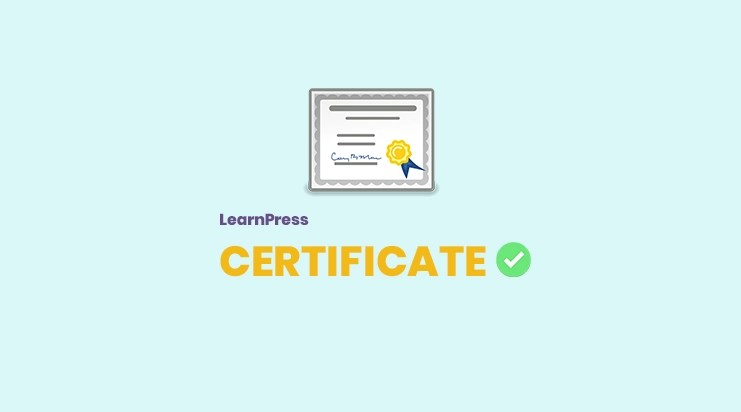 Certificates add-on for LearnPress - ThimPress