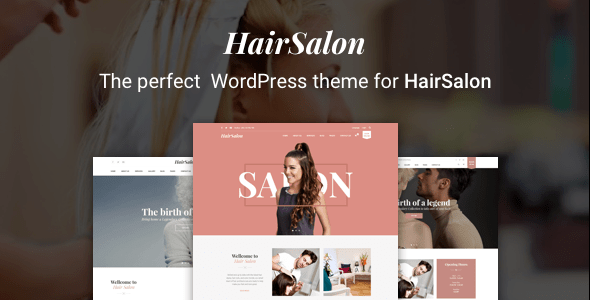 Beauty Hair Salon Wordpress Theme Review The