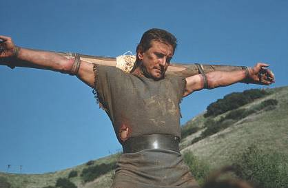 Crucified Spartacus 1960