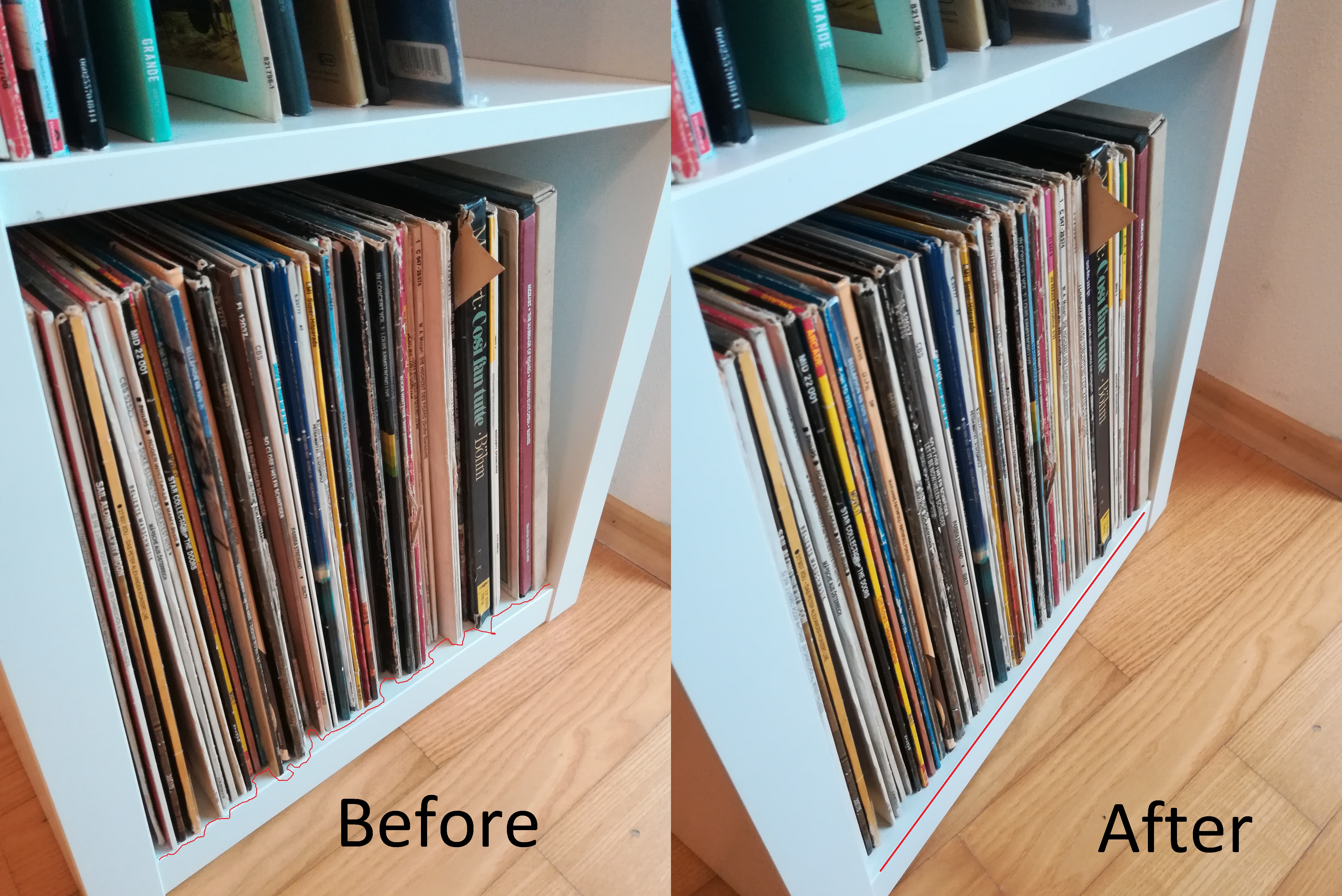 Ikea Kallax Cd Storage Spacer For Ikea Kallax Vinyl Storage By Ggtec Thingiverse