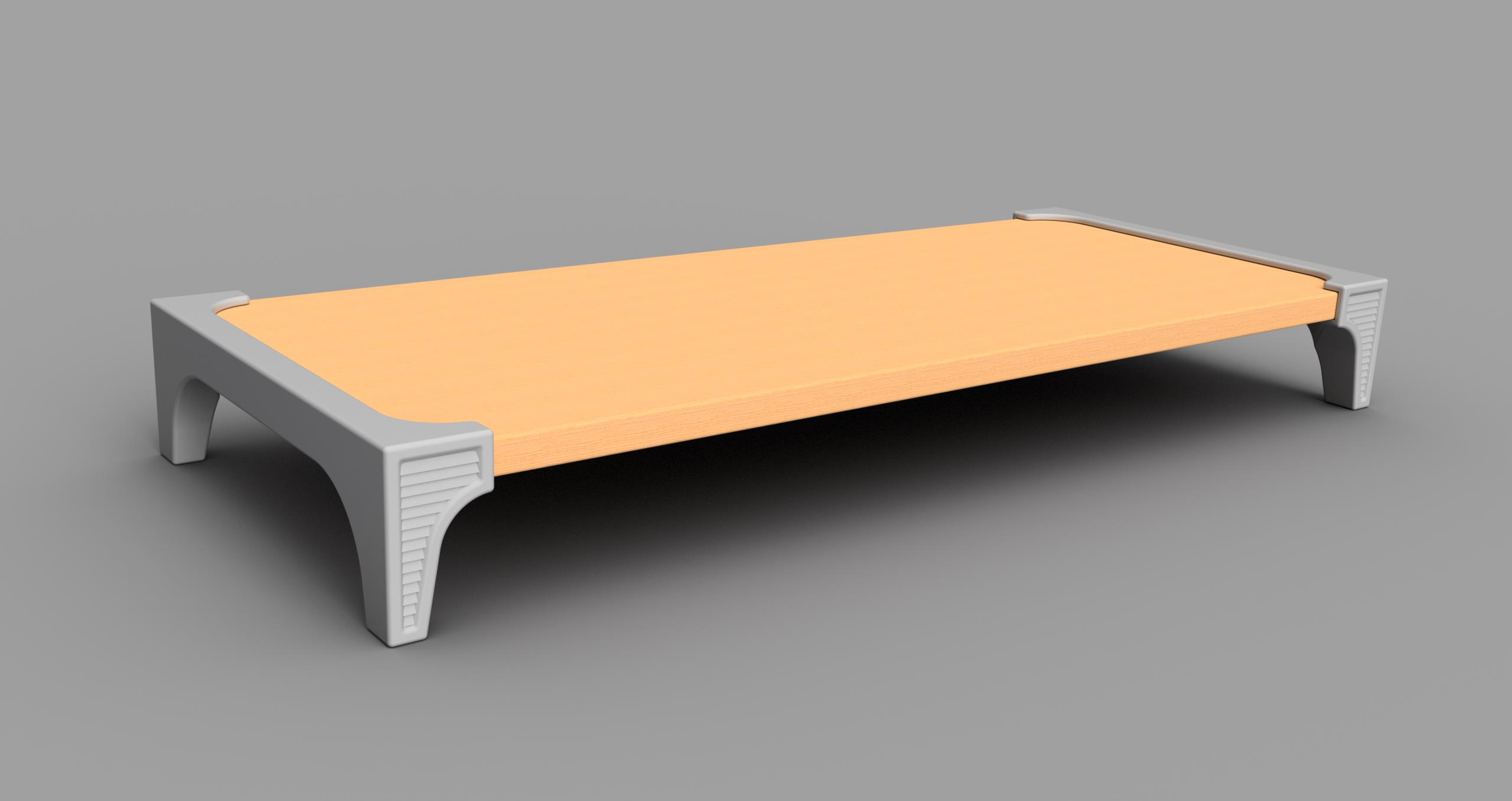 Monitor Stand Ikea Monitor Stand Using An Ikea Laiva Shelf By Vic66 Thingiverse