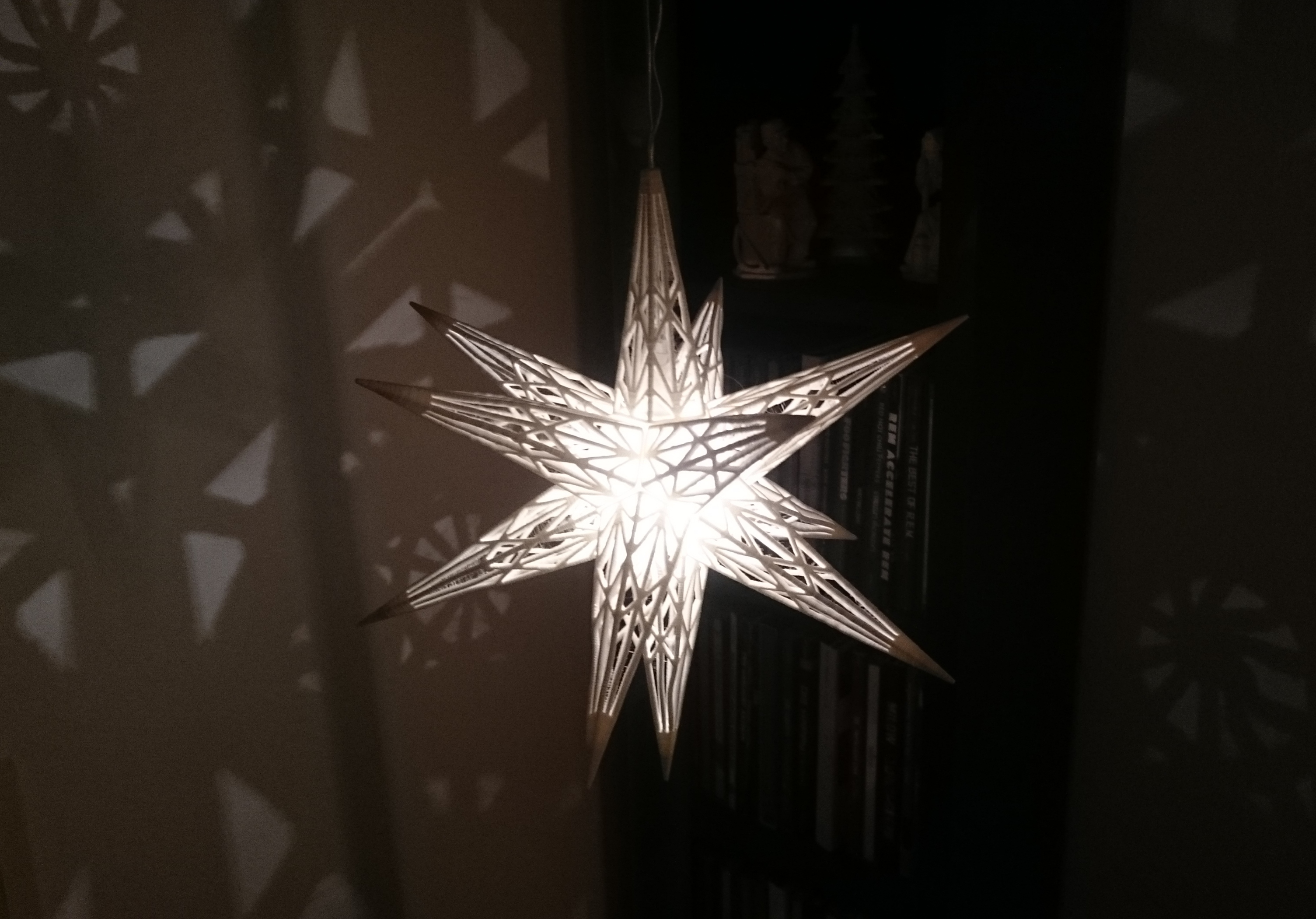 Weihnachtsstern Original Star Light Weihnachtsstern By 87squirrels Thingiverse