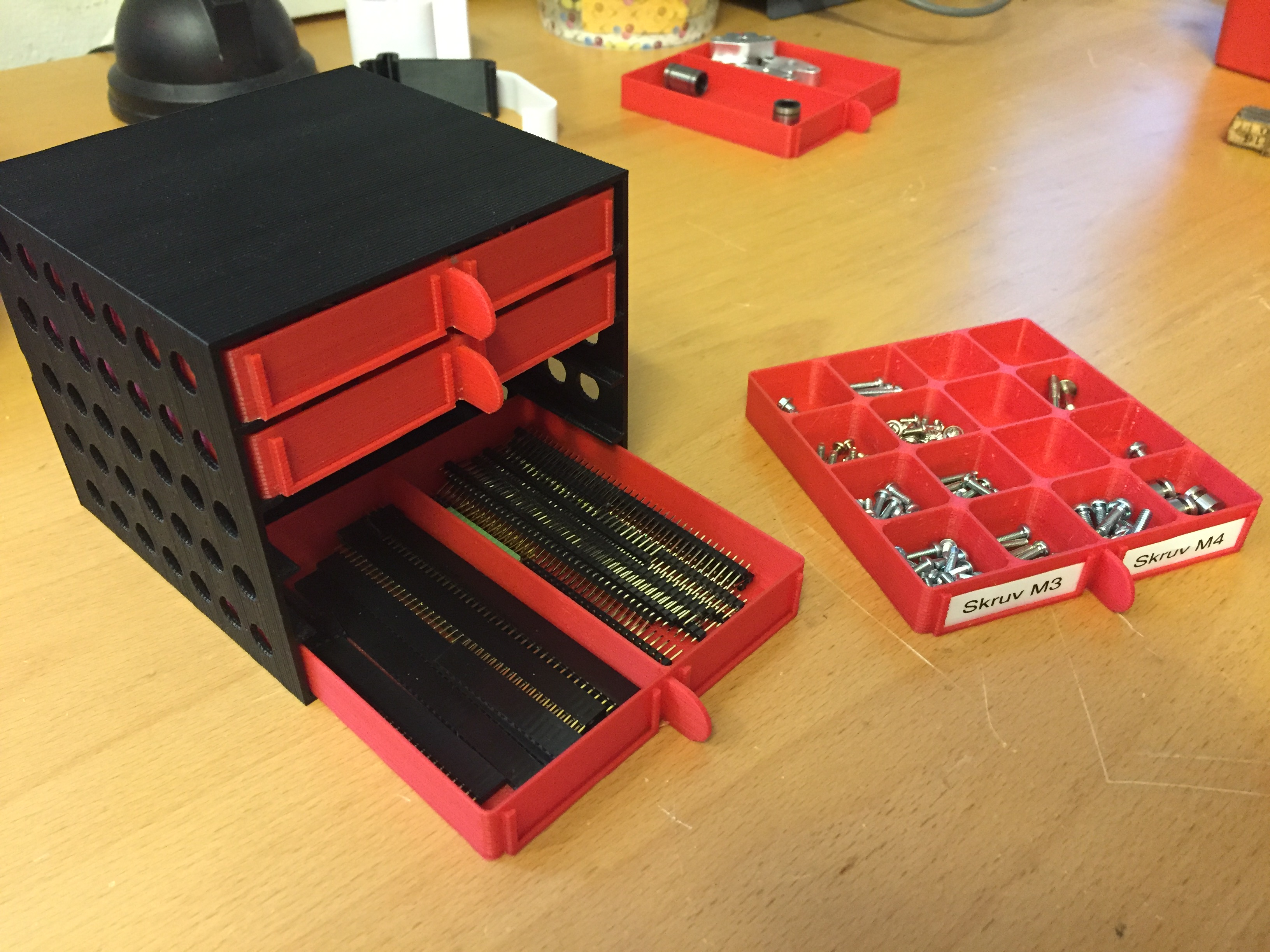 Organizer 2016 Small Items Organizer By Cruzher Thingiverse