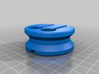 Earbud holder by 123DDesign - Thingiverse