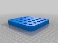 Vial holder by andromedabots - Thingiverse