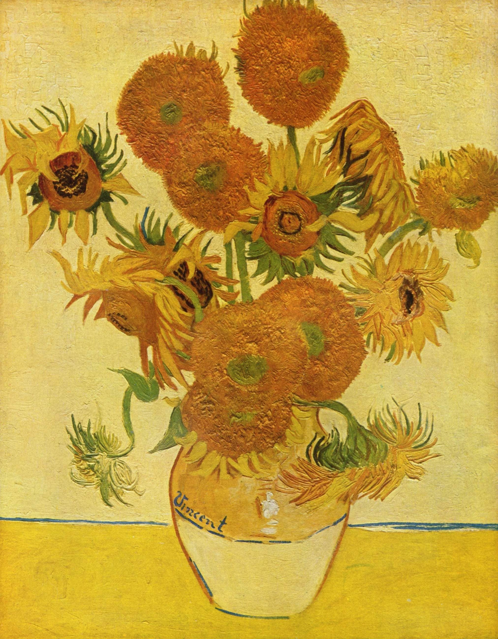 Vincent Van Gogh Paintings Sunflowers 301 Moved Permanently