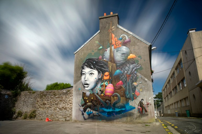 by Liliwenn Bom K in Brest City, France