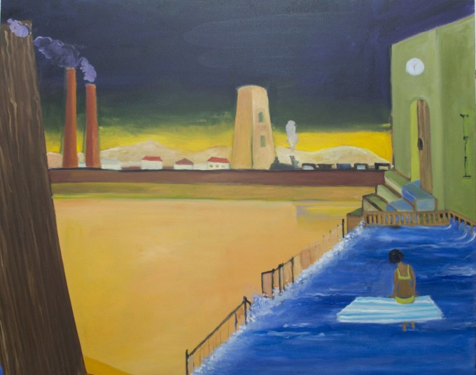 """Moving in with de Chirico"""