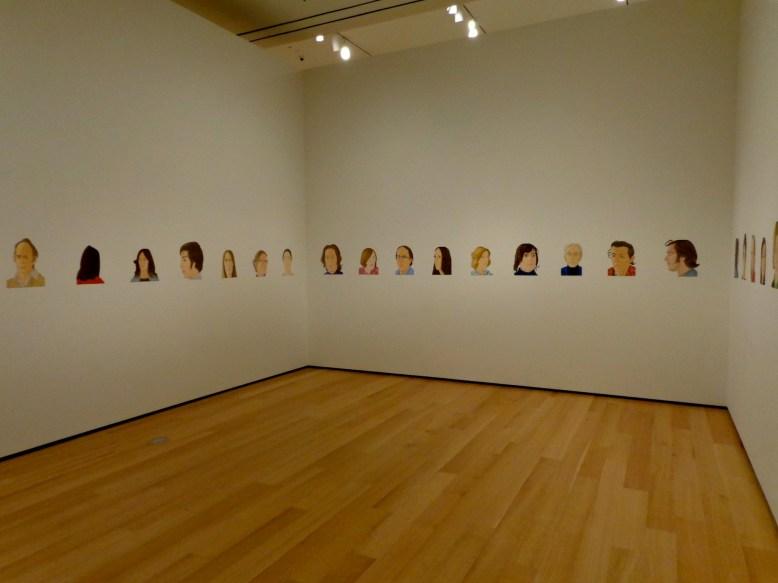"""Alex Katz, """"Rush,"""" 1971"""