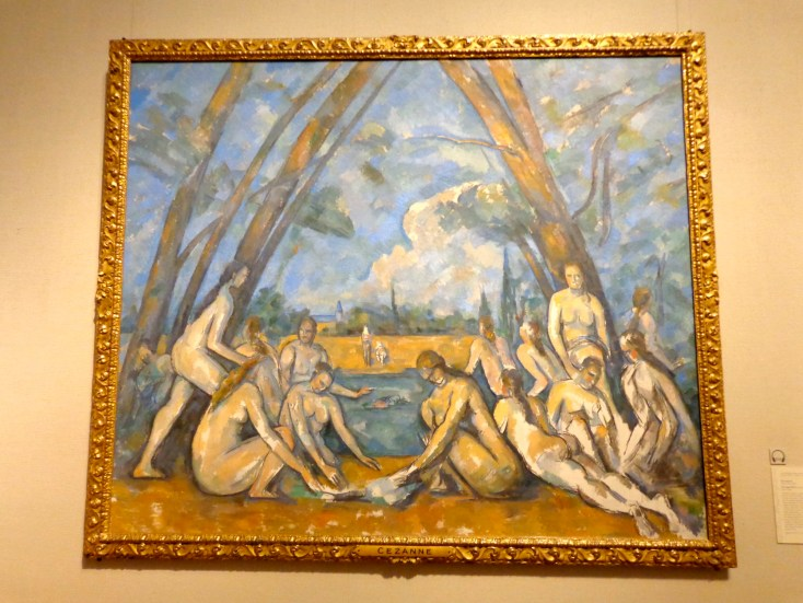 "Paul Cezanne, ""The Large Bathers,"" 1879-1906"