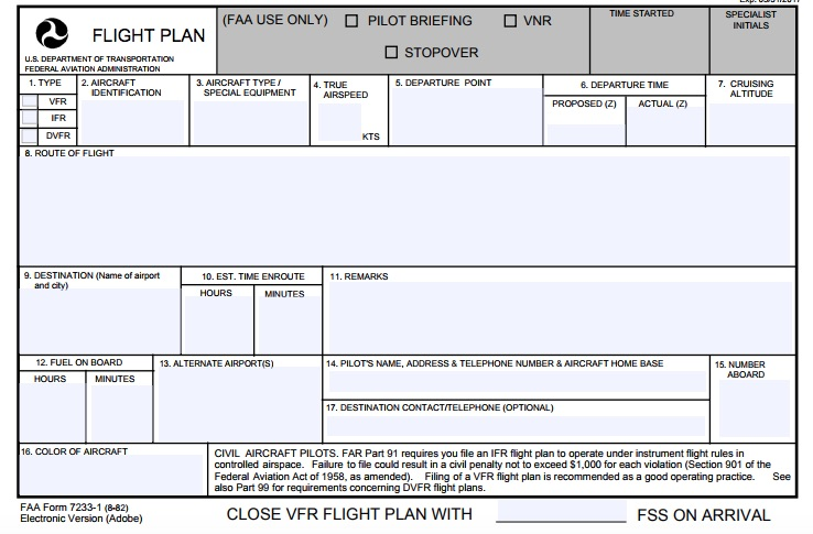 flight planner template - Selol-ink