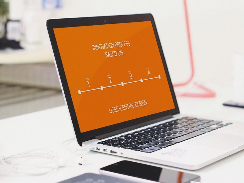 BRISK Business Design Thinking - Case Service Intrapreneurship Accelerator Process Animation - Demo Video Banner - www.thinkbrisk.com
