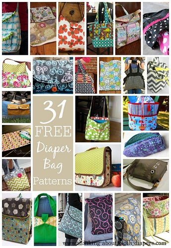 Baby Stroller Bag 31 Free Diaper Bag Patterns Tutorials