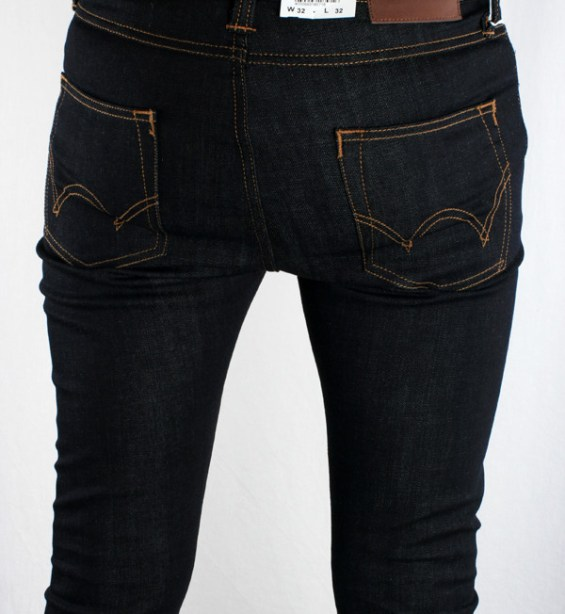 Edwin ED 88 CS Rider Denim Blue Unwashed - Super Slim
