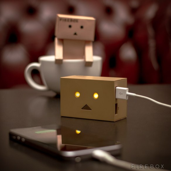 Robot Head Portable Phone Charger