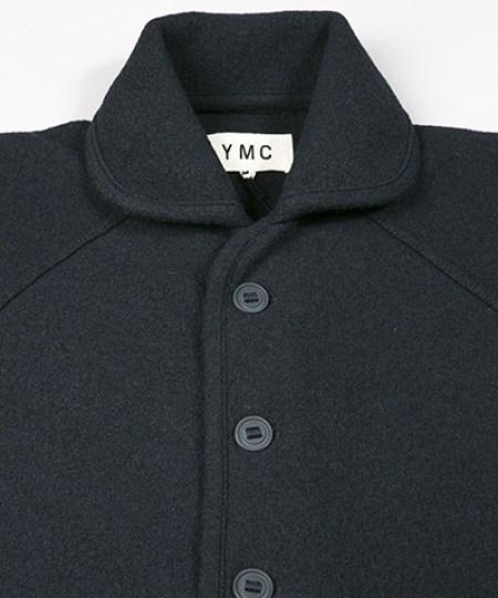 YMC Vintage Crew Neck Boucle Knit