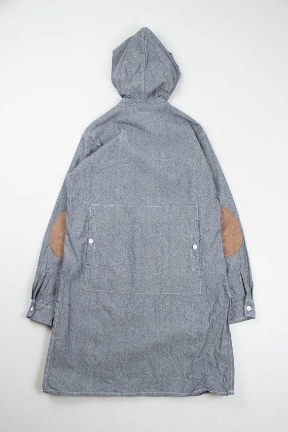 Engineered Garments Hooded Long Shirt
