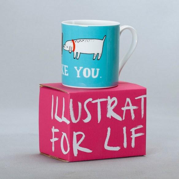 I Like You Mug from Gemma Correll