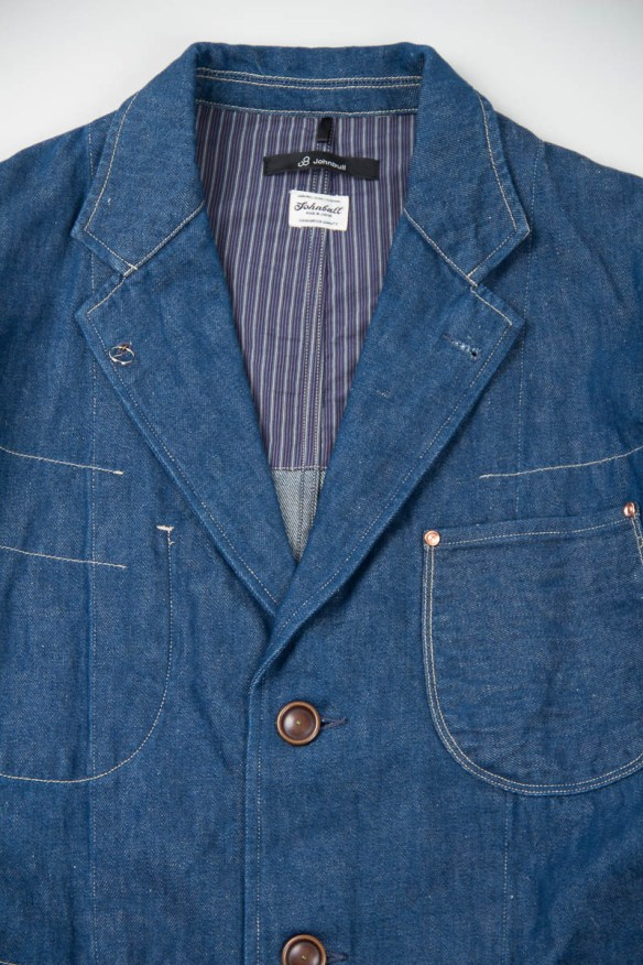 Johnbull Co. Ltd Denim Shop Coat