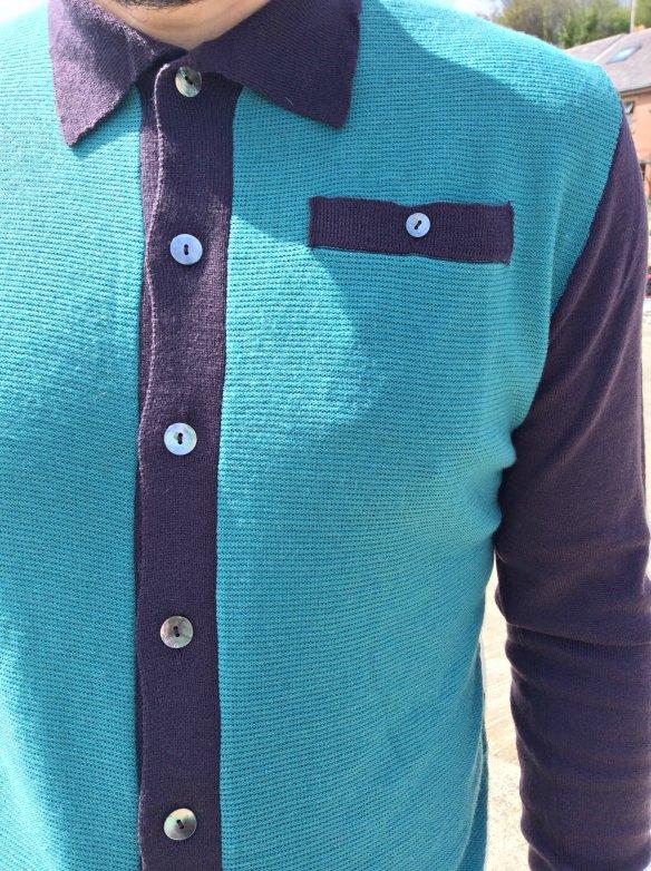 Connection Knitwear Merino Wool Cardigan
