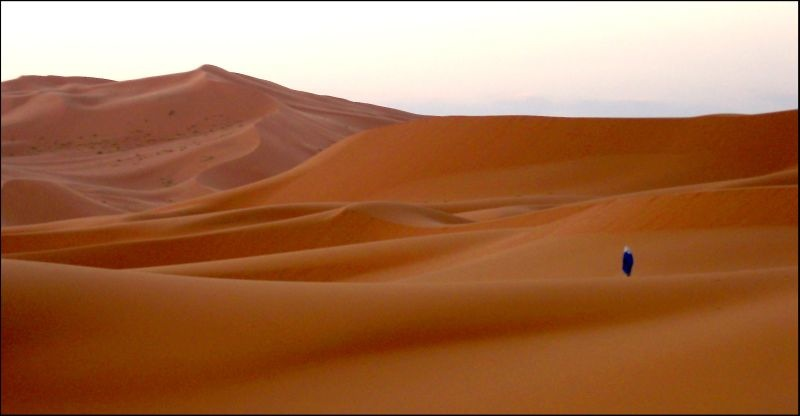 New Year's Eve in Morocco's Sahara Desert